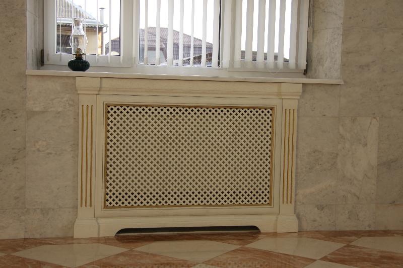 Декоративные решётки для радиаторов отопления своими руками